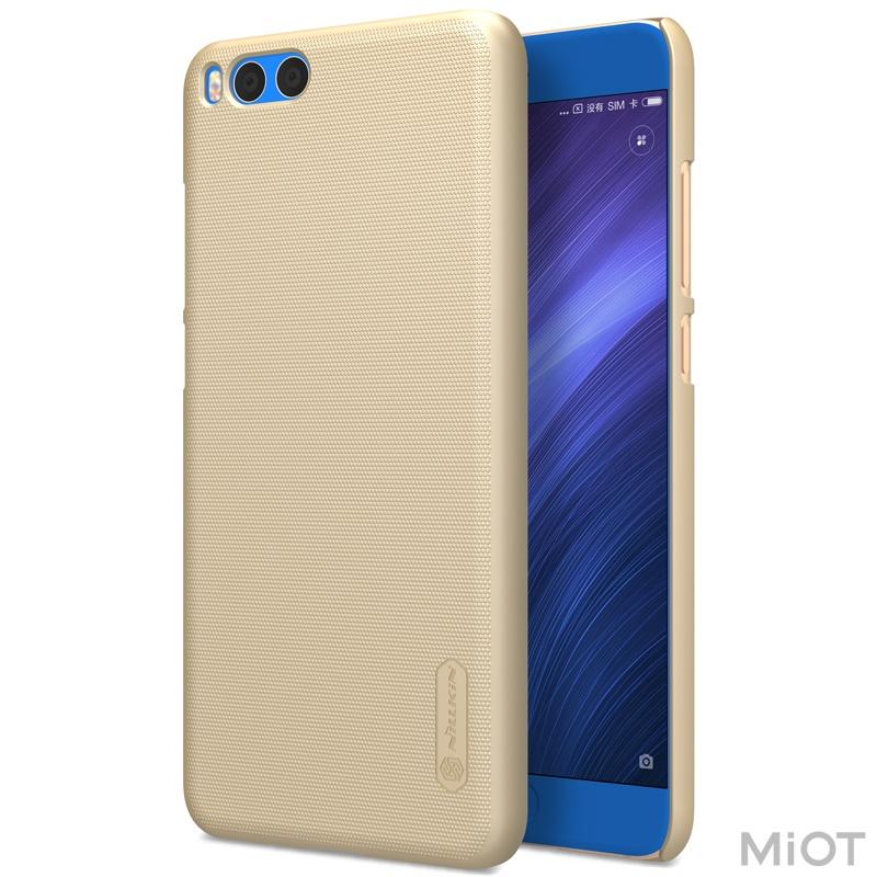 Чохол бампер Nillkin Frosted Shield Xiaomi Mi Note 3 Gold F-HC XM-NOTE 3