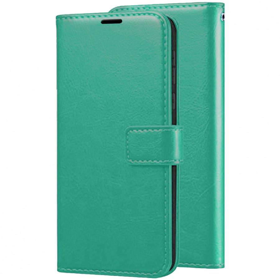 Чохол (книжка) Wallet Glossy з візитницею для Xiaomi Redmi K20 / K20 Pro / Mi9T / Mi9T Pro Бірюзовий (106618)