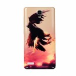Вінілова наклейка обкладинка  Back cover for Xiaomi Redmin Note (Eagle)