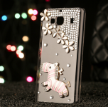 Чохол бампер до смартфонів Redmi 2 Diamond zebra White 3D
