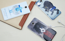 Чохол бампер Xiaomi Redmi Note 2 Cartoon series 3D lamb 1154800038
