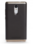 Чохол бампер до смартфонів Xiaomi Redmi Note 3 Leather Brown