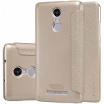 Чохол книжка Nillkin Leather case SP-LC HM до смартфонів Redmi Note 3 Gold