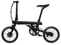 Велосипед QiCycle mini foldable bicycle EF1 Black