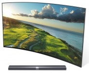 "Телевізор Xiaomi Mi TV 3S 65"" SMART 4K CURVED with Soundbar"