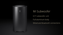 Mi Bluetooth Subwoofer Круглий AUX IN