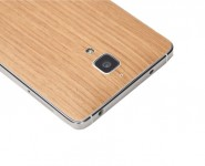 Вінілова наклейка обкладинка Original Back Cover For Xiaomi Mi4 (Wood Ash) ORIGINAL