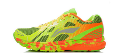 Кросівки Xiaomi x Li-Ning Smart Running Shoes Green/Orange 41 ARHK081-3