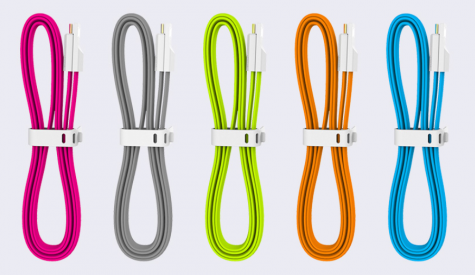 Портативний USB кабель Colorful Orange 120 см