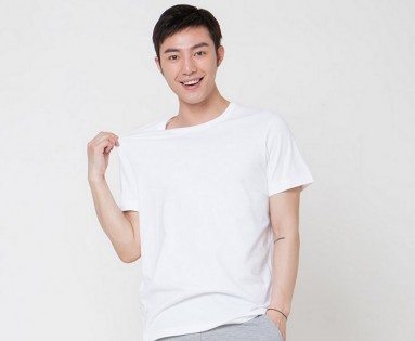Футболка Mi solid round neck T-shirt men White M