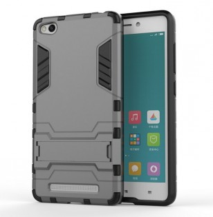 Чохол бампер до смартфонів Xiaomi Redmi 3 Anti-shock Dark Gray