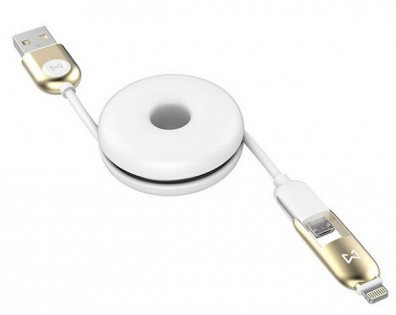 Кабель EMiE Charging cable Sugar AC12 Gold