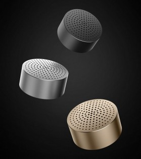 Портативна колонка Mi Portable Bluetooth Speaker Gold