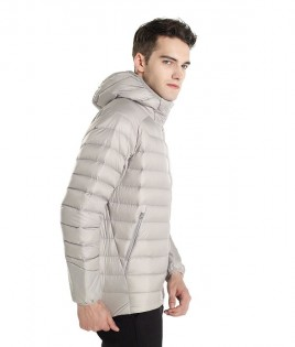 Куртка RunMi 90 points Feather coat Man Gray XXL