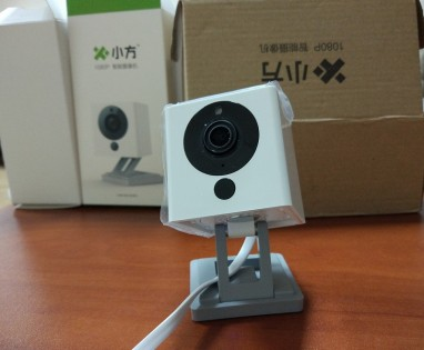 IP-камера Xiaomi MiJia Small Square Smart Camera White