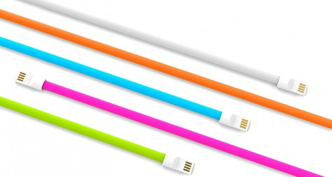 Кабель KingMi Colorful Portable USB cable 20 см Red