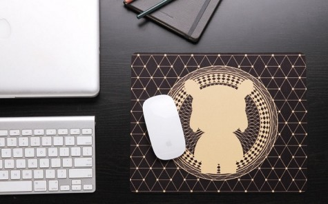 Килимок Xiaomi mouse pad Abstract rabbit 1162300007