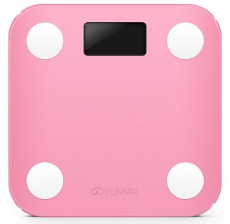 Ваги YUNMAI mini health smart scales Pink
