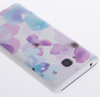 Чохол бампер Xiaomi  Primary Protective Case for Redmi 2 3D protective shell flower