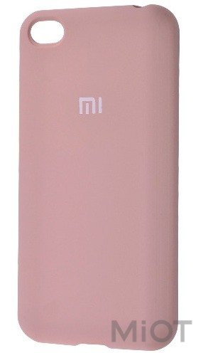 Чохол бампер Silicone Cover Full Protective Xiaomi Redmi Go Pink Sand