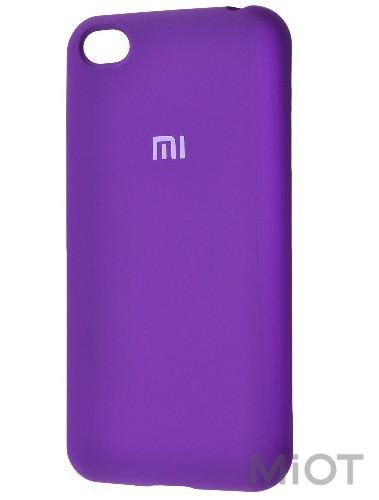Чохол бампер Silicone Cover Full Protective Xiaomi Redmi Go Purple