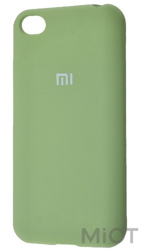 Чохол бампер Silicone Cover Full Protective Xiaomi Redmi Go Mint Gum