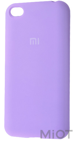 Чохол бампер Silicone Cover Full Protective Xiaomi Redmi Go Light Purple