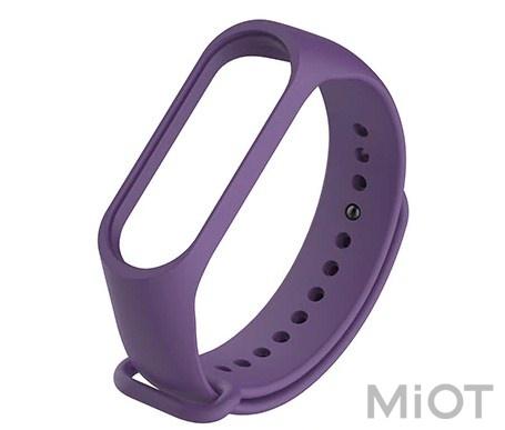 Ремінець для Xiaomi Mi Band 3/4 Purple