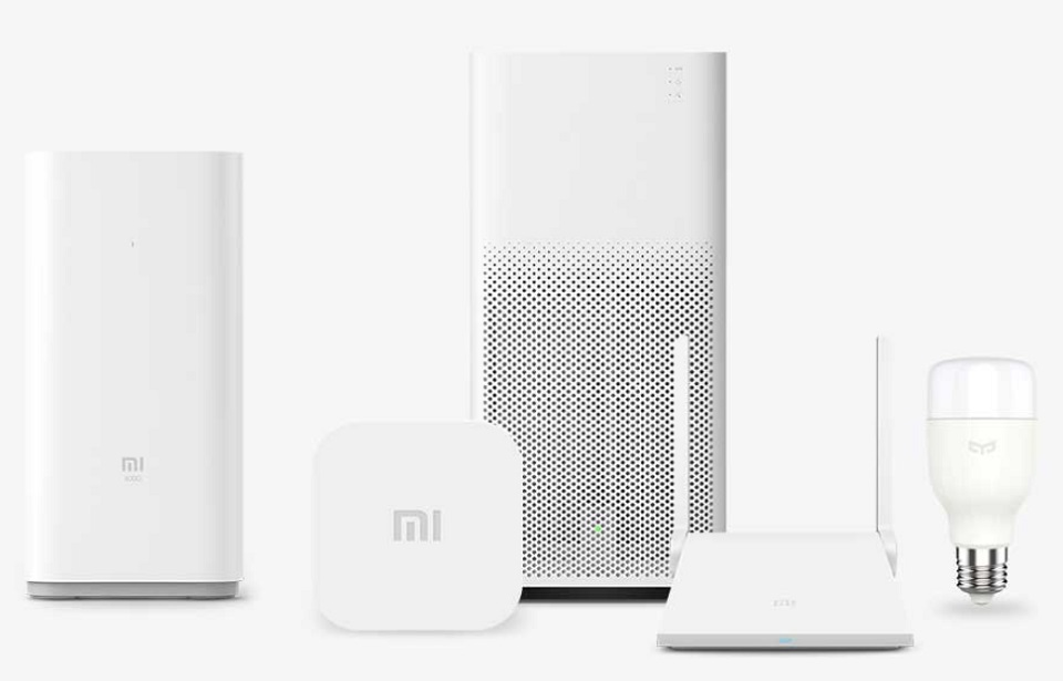Mi Smart Home Multifunction Gateway 2 DGNWG02LM і очищувач повітря