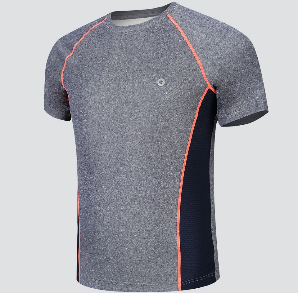 Футболка AMAZFIT Sport quick-drying T-shirt Mens крупним планом
