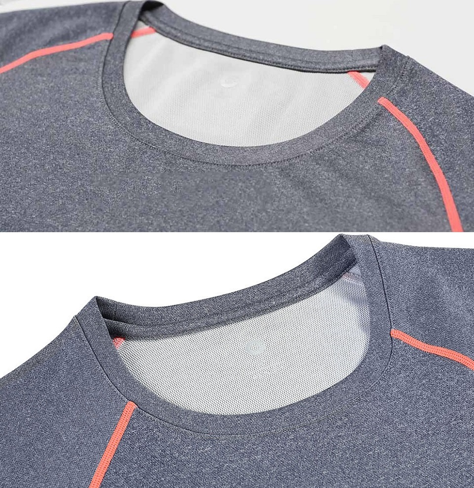 Футболка AMAZFIT Sport quick-drying T-shirt Mens шви та горловина