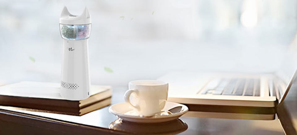 AirPet Air Portable Purifier компактний