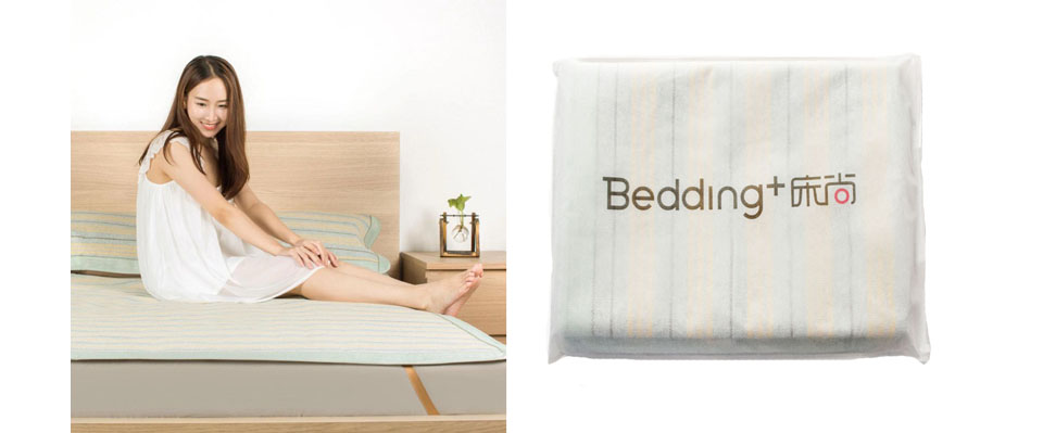 Комплект для ліжка Bedding+ Natural Wood Pulp Cooling Set 1.8 зберігання
