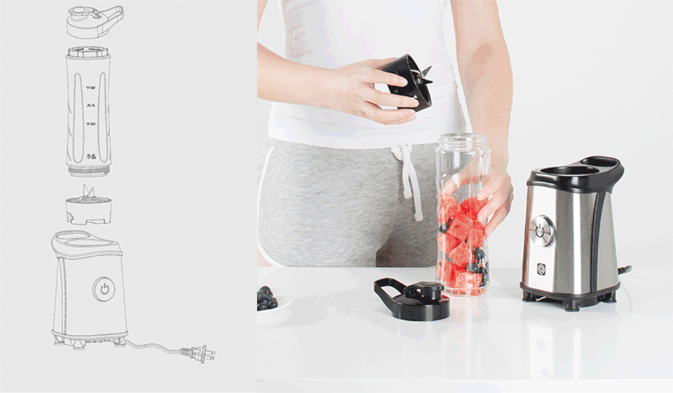 Блендер Circle Kitchen Electric Juice Extractor мінімум деталей