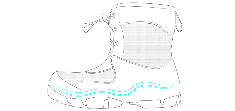 37cf15c31af0c5 Дитячі чоботи Honeywell kids boots Green / Red 32 size промальовування  взуття