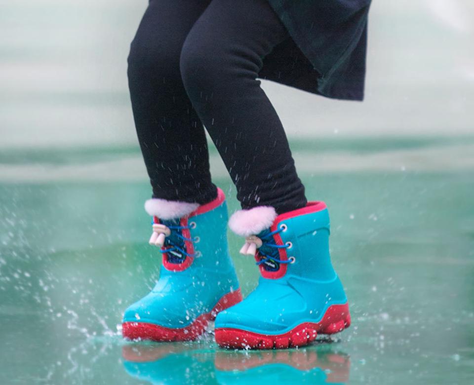 62b5bfe3443a52 Дитячі чоботи Honeywell kids boots Green / Red 32 size водовідштовхувальний  матеріал
