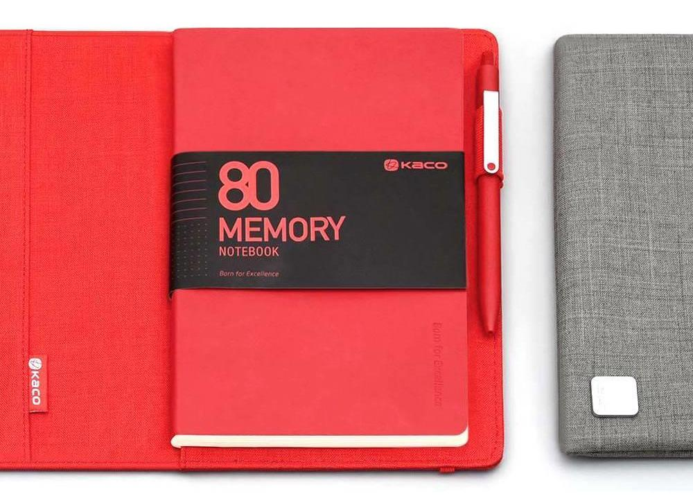 KACO-Classic-Business-Set-Memory-Alio-Notebook+Multi-Function-Bag grey