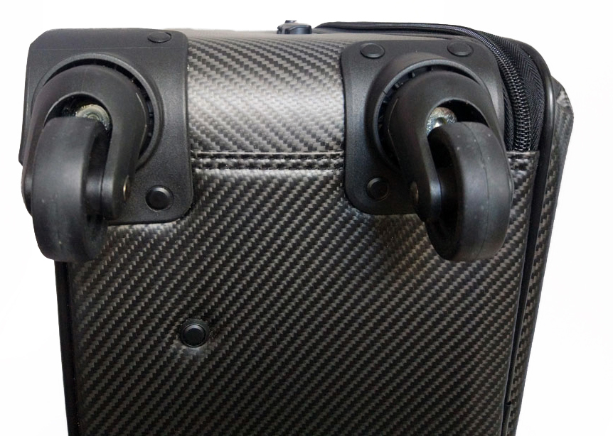 Валіза Karbonn Fiber Luggage + Leathe колеса