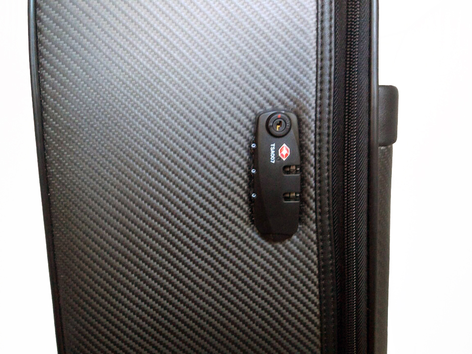 Валіза Karbonn Fiber Luggage + Leathe TSA-замок