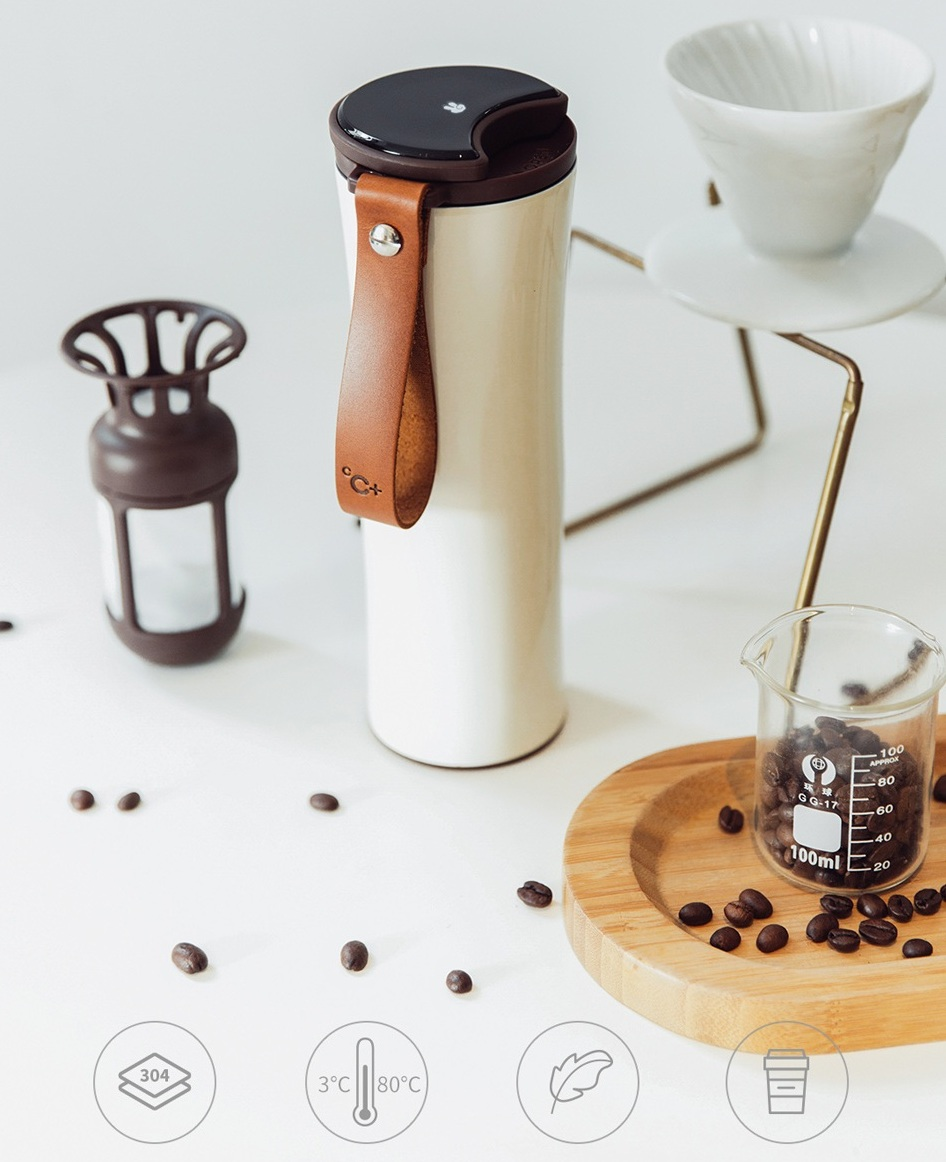 KissKissFish MOKA Smart Coffee Tumbler характеристики