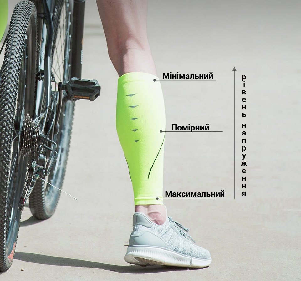 Гетри спортивні MITOWN Sports compression calf sets їзда на велосипеді