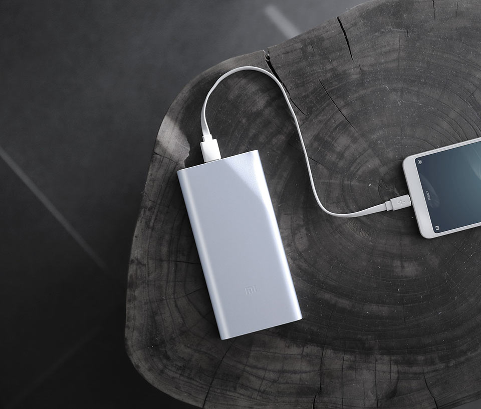 Mi Powerbank 2 металевий корпус