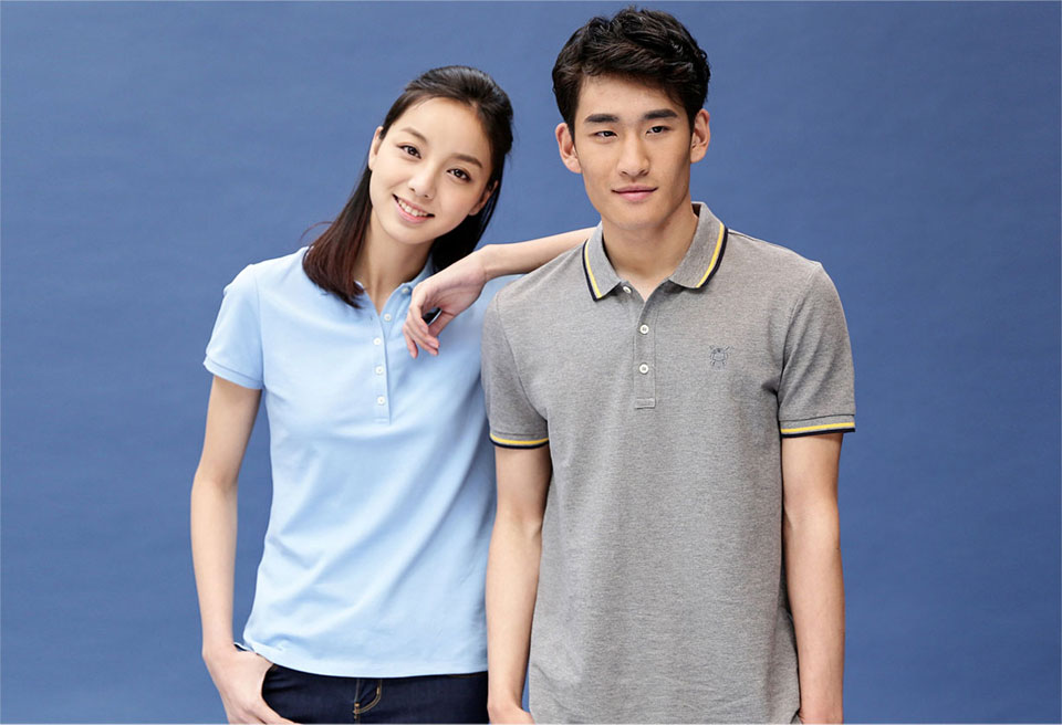 Mi solid POLO Shirt Women Blue основний вид