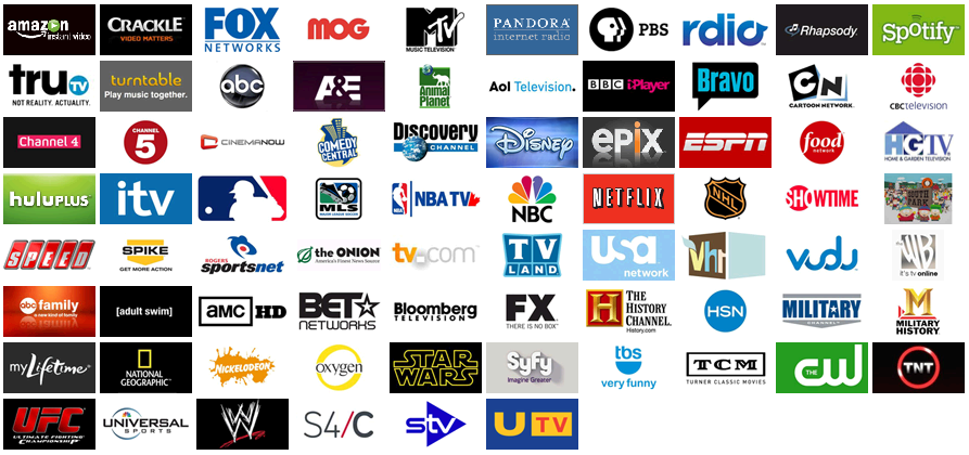 Images of Tv Networks List - #rock-cafe
