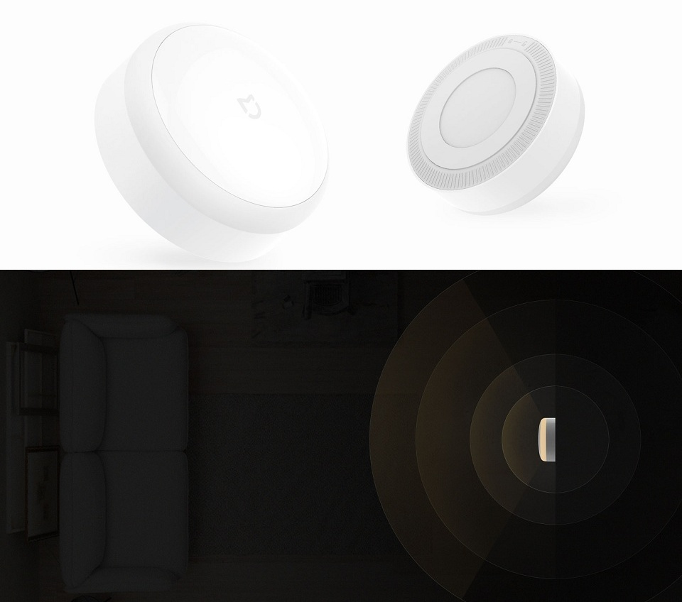 Нічна лампа MiJia Induction Night Light крупним планом
