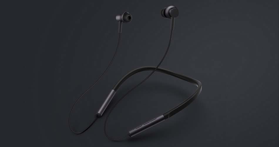 Mi Bluetooth Neckband Earphones зручні навушники