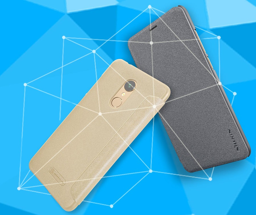 Чохол книжка Nillkin Sparkle Leather Case SP-LC Xiaomi Redmi 5 в двох кольорах