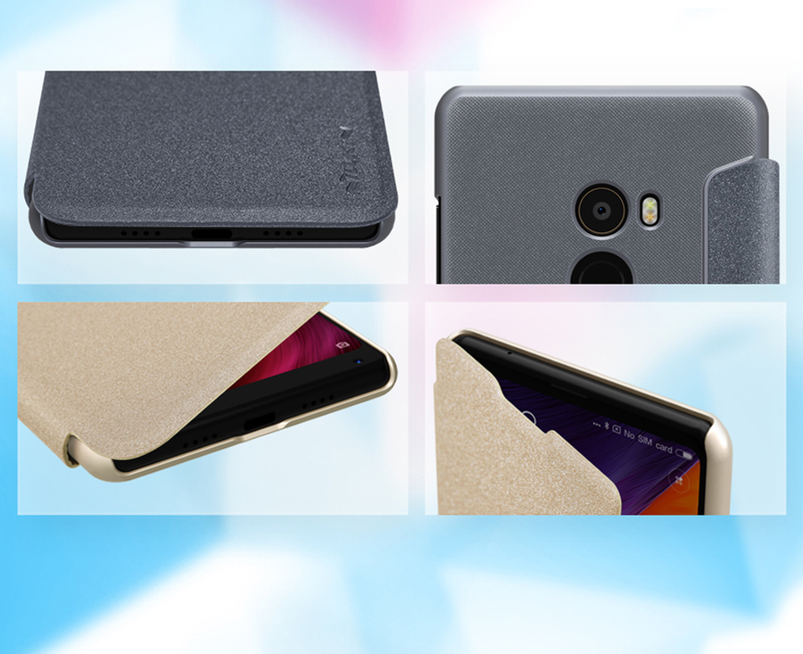 Чохол книжка Nillkin Sparkle Leather XIAOMI Mi MIX 2 SP-LC XM-MIX 2 вирізи під роз'єми