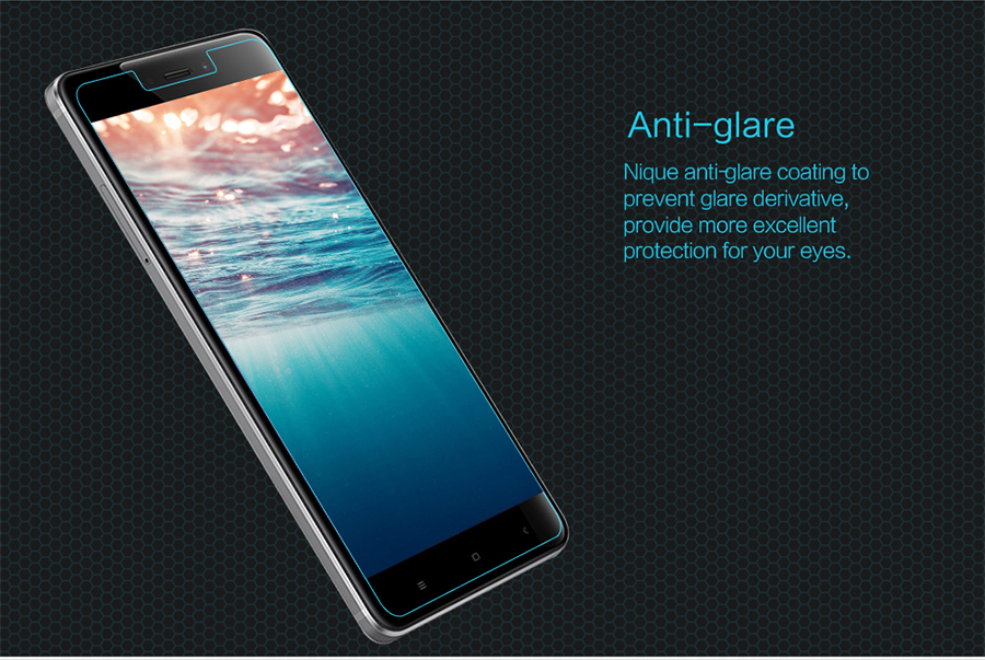 Nillkin H Anti-Explosion Glass Screen HG-SP HM-NOTE 4 антиблікове