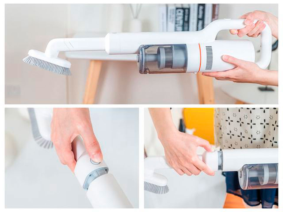 Roidmi F8 Handheld Wireless Vacuum Cleaner зручне керування